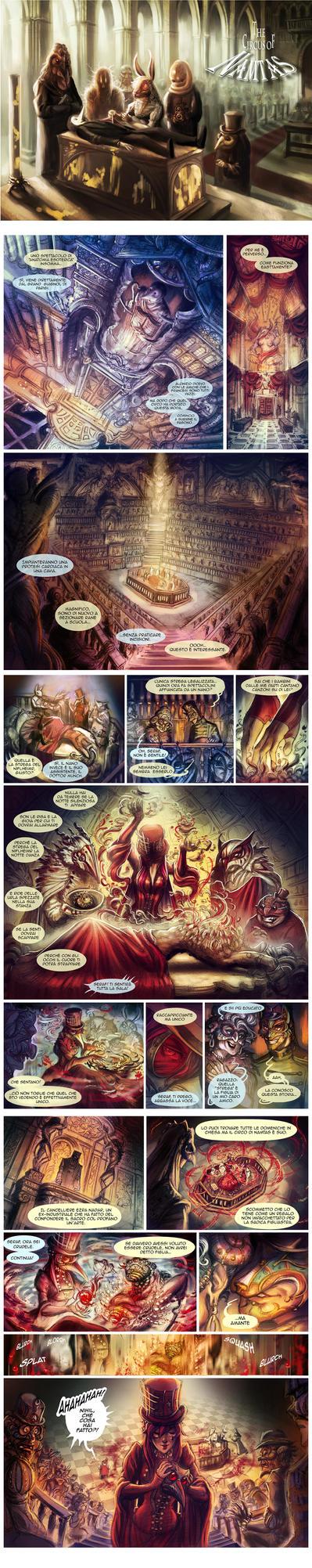 Il Circo di Namtas - pagine 33 34 35 by Rivan145th
