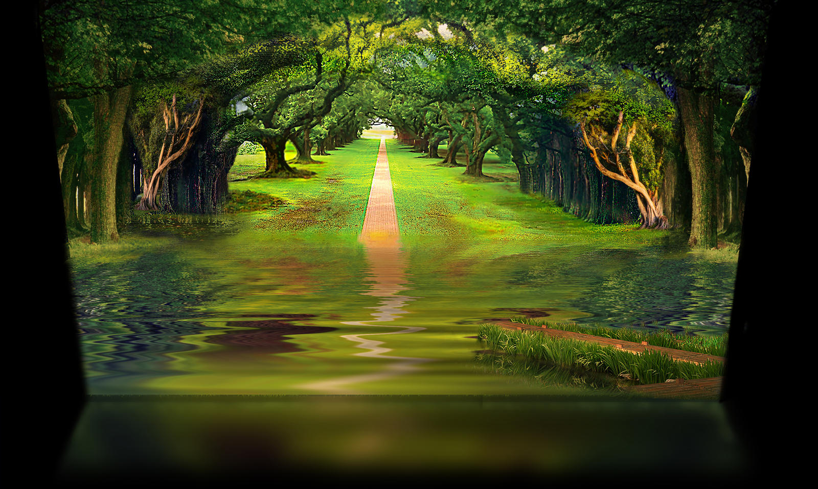 A green landscape by andeemac2006 on deviantart for Find a landscaper