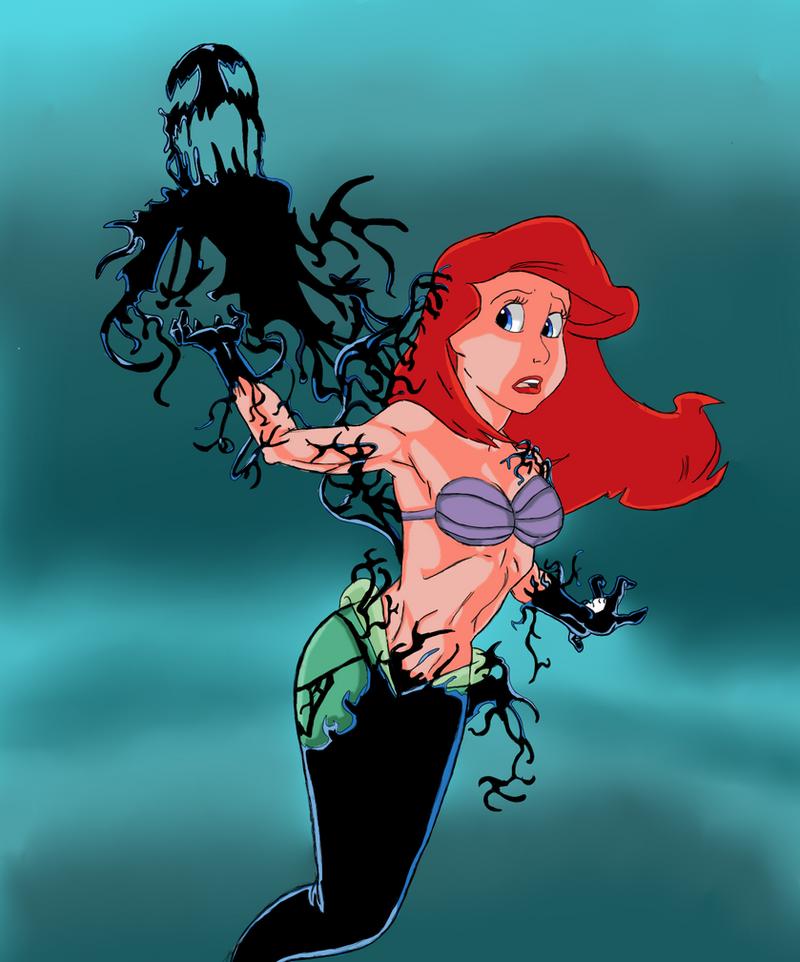 Littel mermaid porn