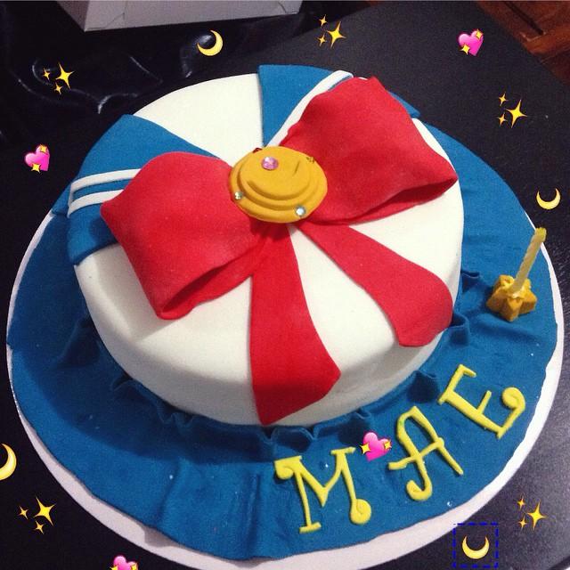 Sailor Moon Birthday Cake Topper