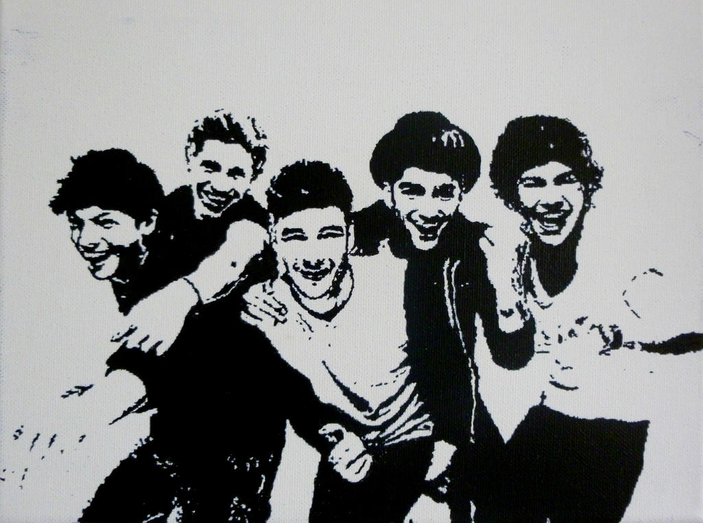 One Direction by estherjanine on DeviantArt