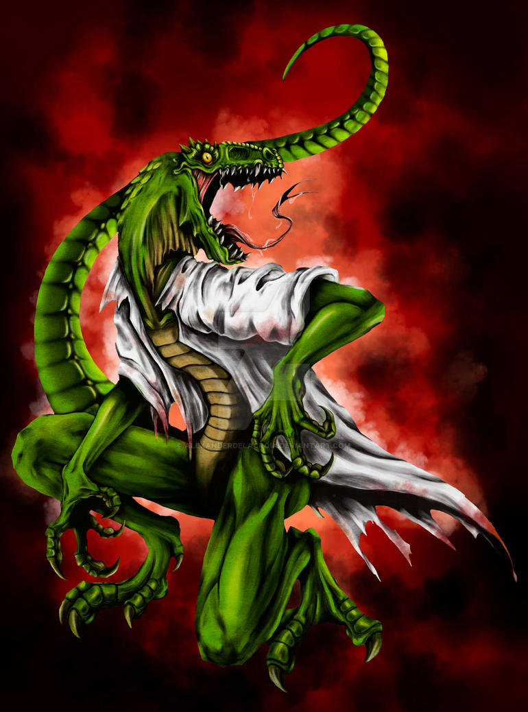 The Lizard (spider-man) by AlexanderDeLaCroix on DeviantArt