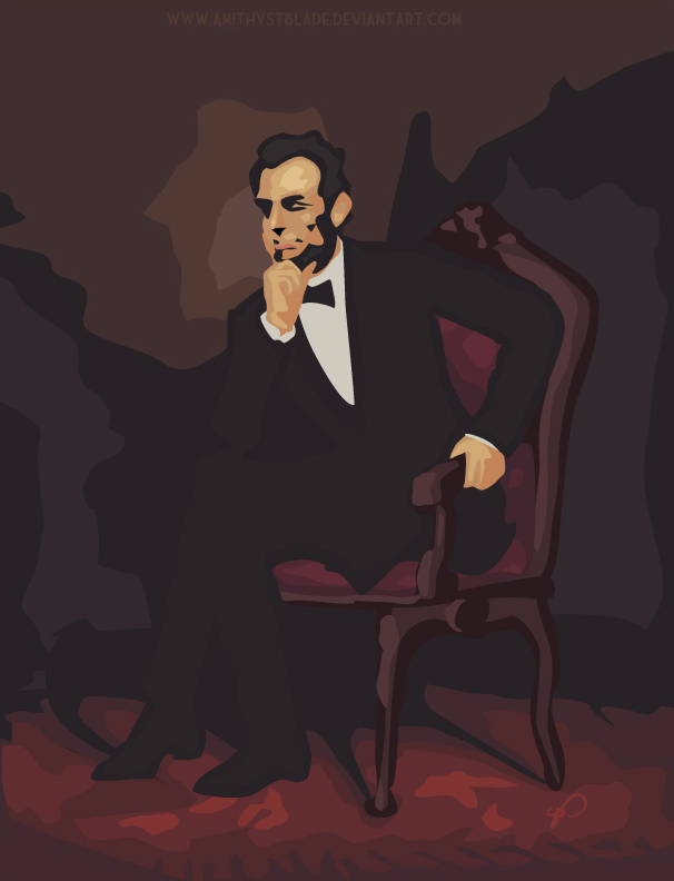 Abraham Lincoln_Vector by seystudios