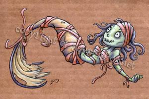 Zombie Mermummy by seystudios