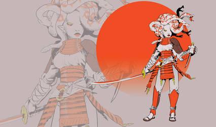 Samurai gorgone