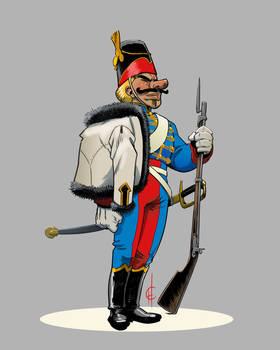 Hussar Henri Foucard