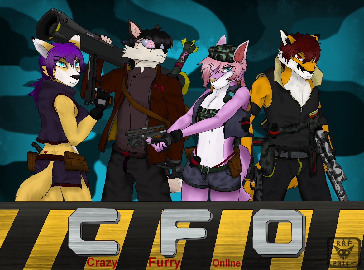 Crazy Furry Online... Game On!