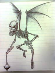 Demon Skeleton by DanGX