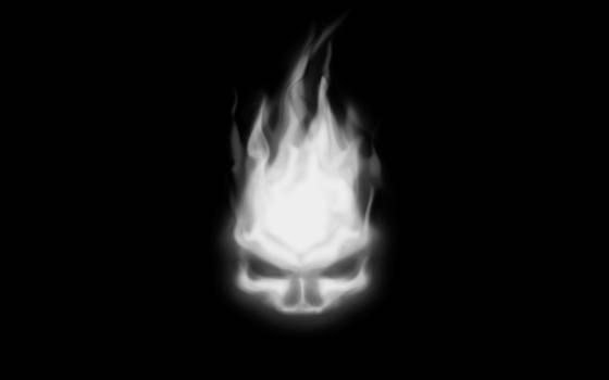 Smoked Skull by DanGX