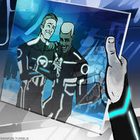 Tron x Able: Beck finds a photo