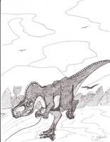 Ceratosaurus Nasicornis by Ichigo2468