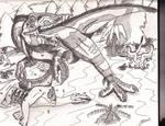 Giganotosaurs Carolinii