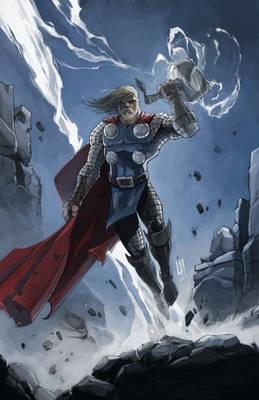 Thor - Digital Painting