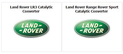 Land Rover Catalytic Converter Supplier by mufflerexpress