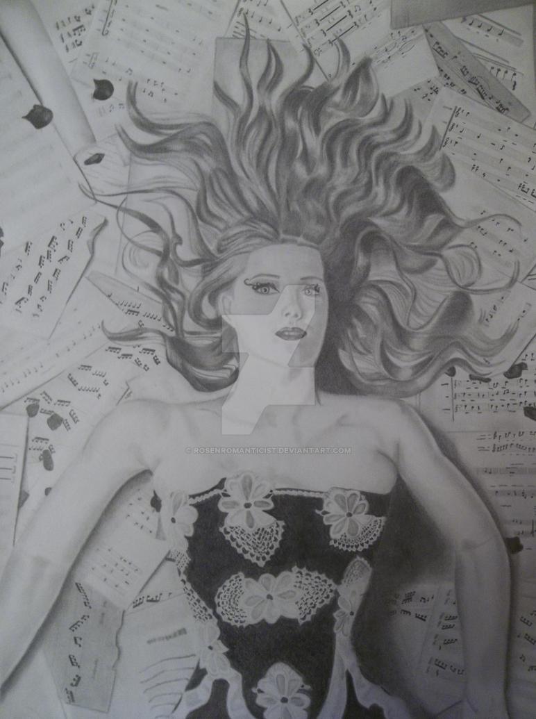 Simone Simons by RosenRomanticist