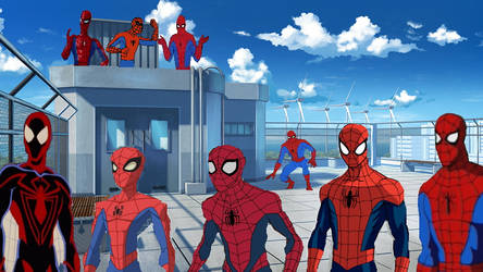 Animated Series Spiderverse!
