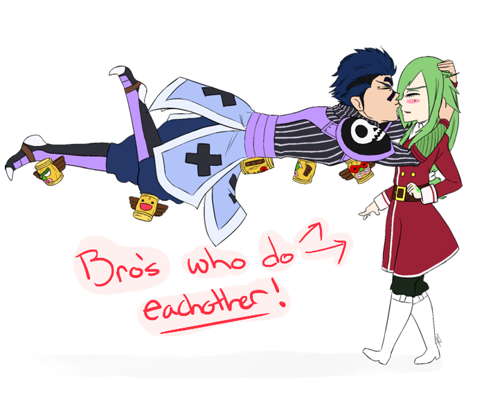Bro's who do each other by Tehonlyme
