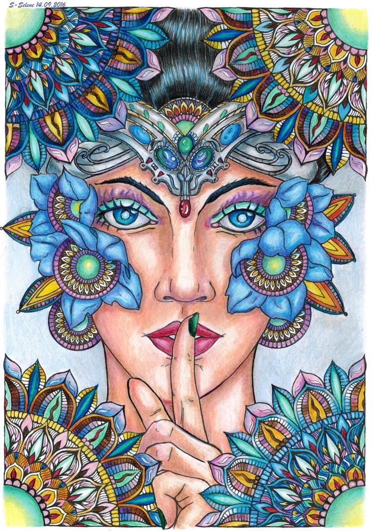 Cicho-sza by I-Love-My-Pencils