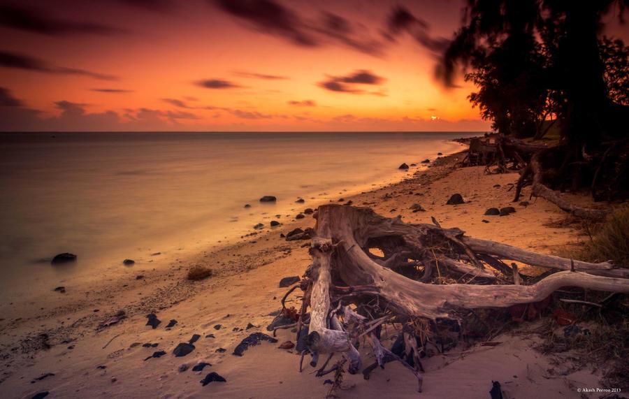 Fiery Sunset by AkaSling