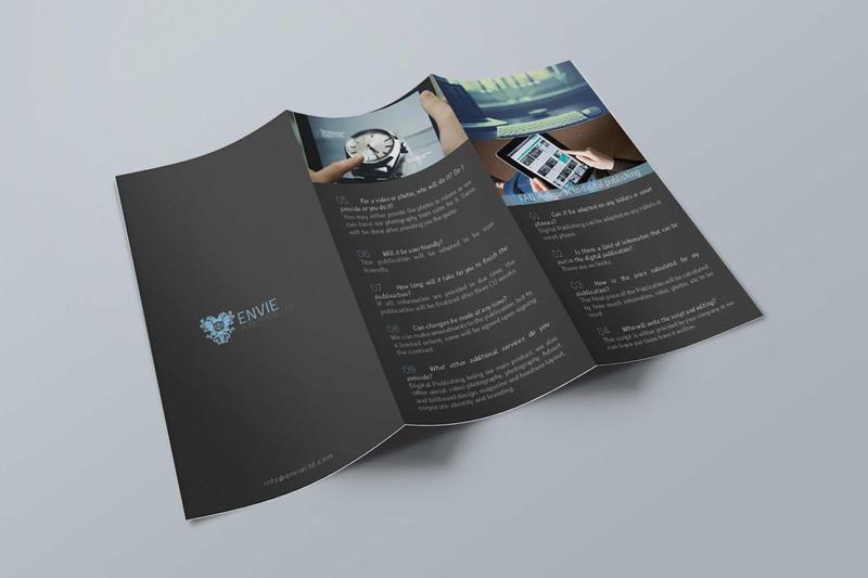Tri Fold Brochure Mock-up by AkaSling on DeviantArt
