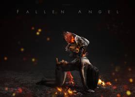 Fallen Angel by AkaSling