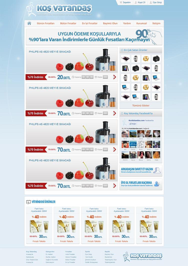 Kos Vatandas E-Ticaret Sitesi by alisarica