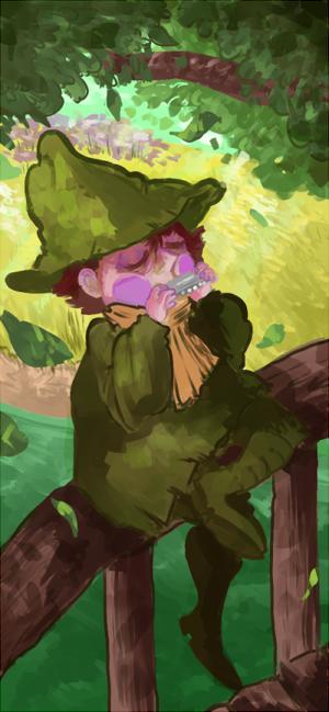 [moomins] breeze by akasunanosasoriXD