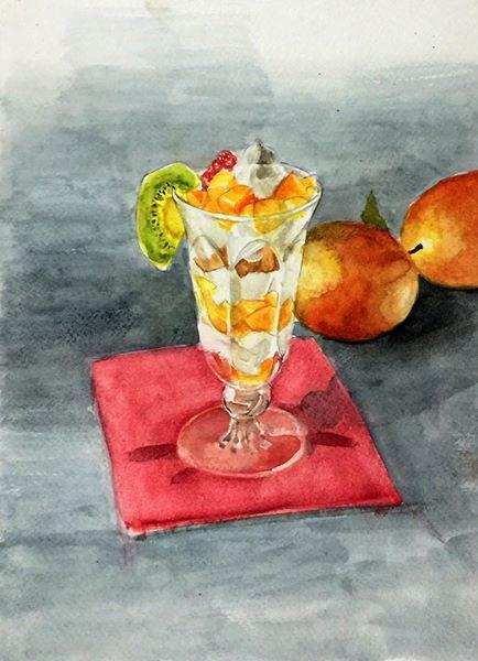 Mango Parfait by HinotoriProductions