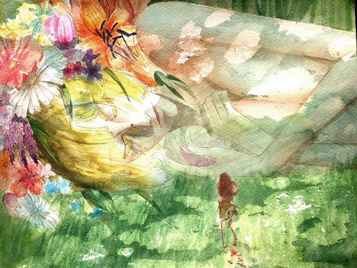 Nap in the Forest by HinotoriProductions