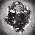 Dark Death. Vector illustration