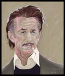 Sean Penn - Digital vector portrait
