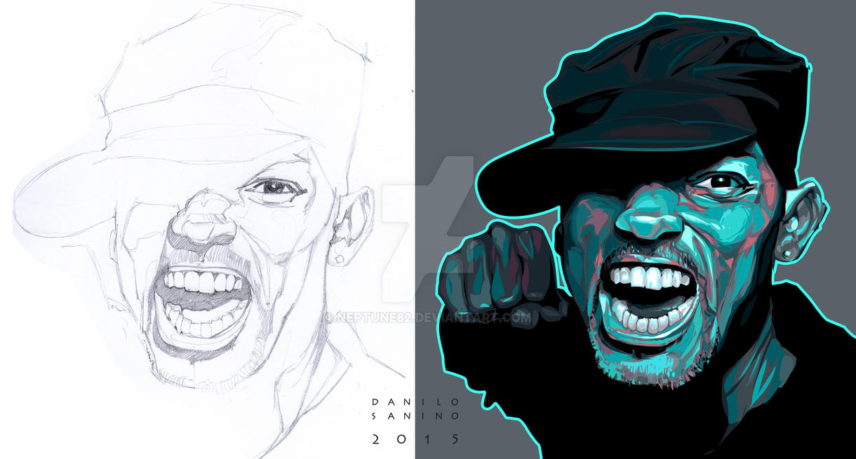 - Will Smith -   Sketch + Particular. by neptune82