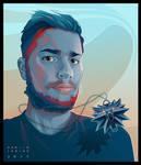 - Lorenzo - digital vector portrait
