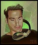 - Antonio - digital vector portrait