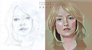 - Jodie Foster - Sketch + Particular