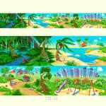 4 landscapes in 1