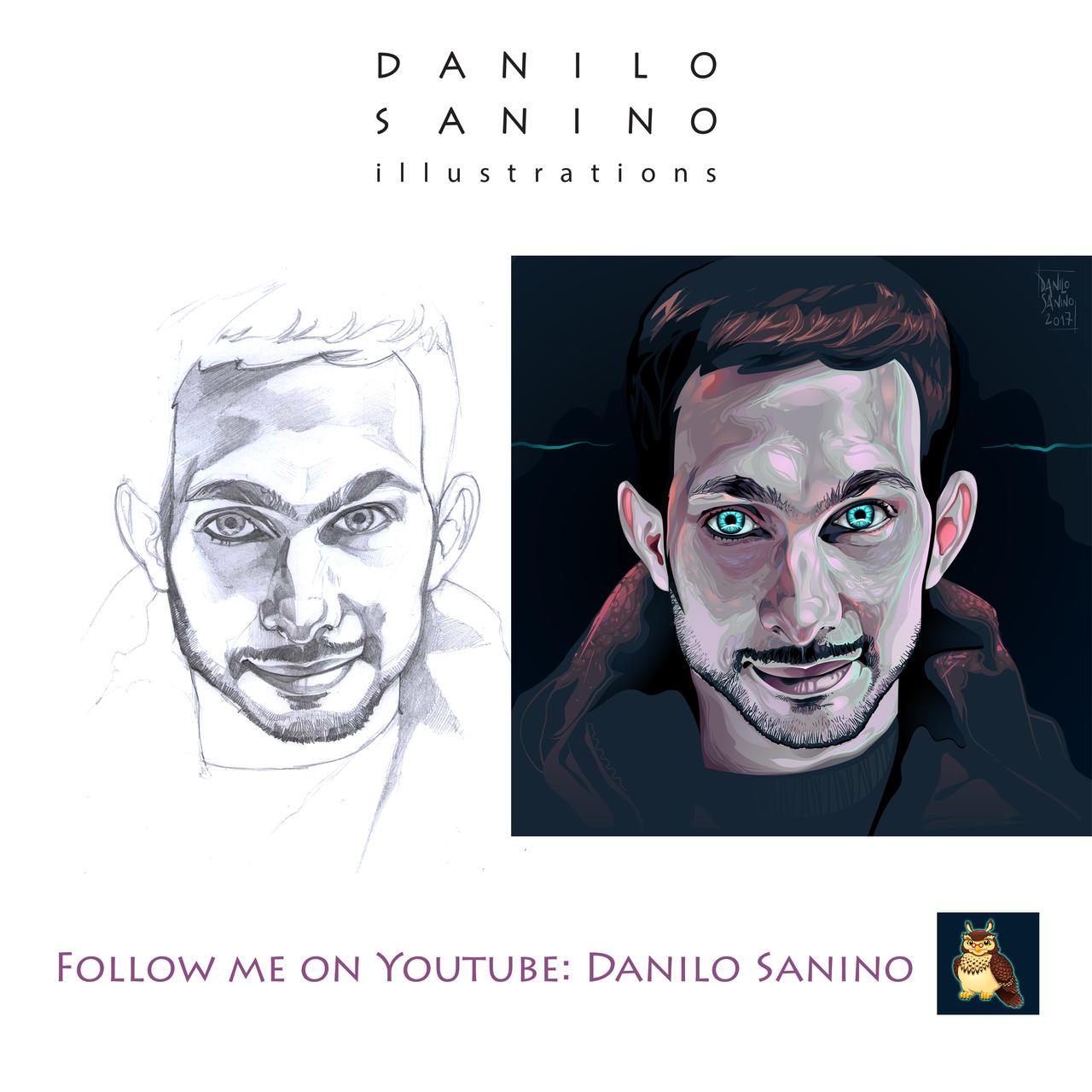 - Dynamo magician - Vector portrait + sketch/base