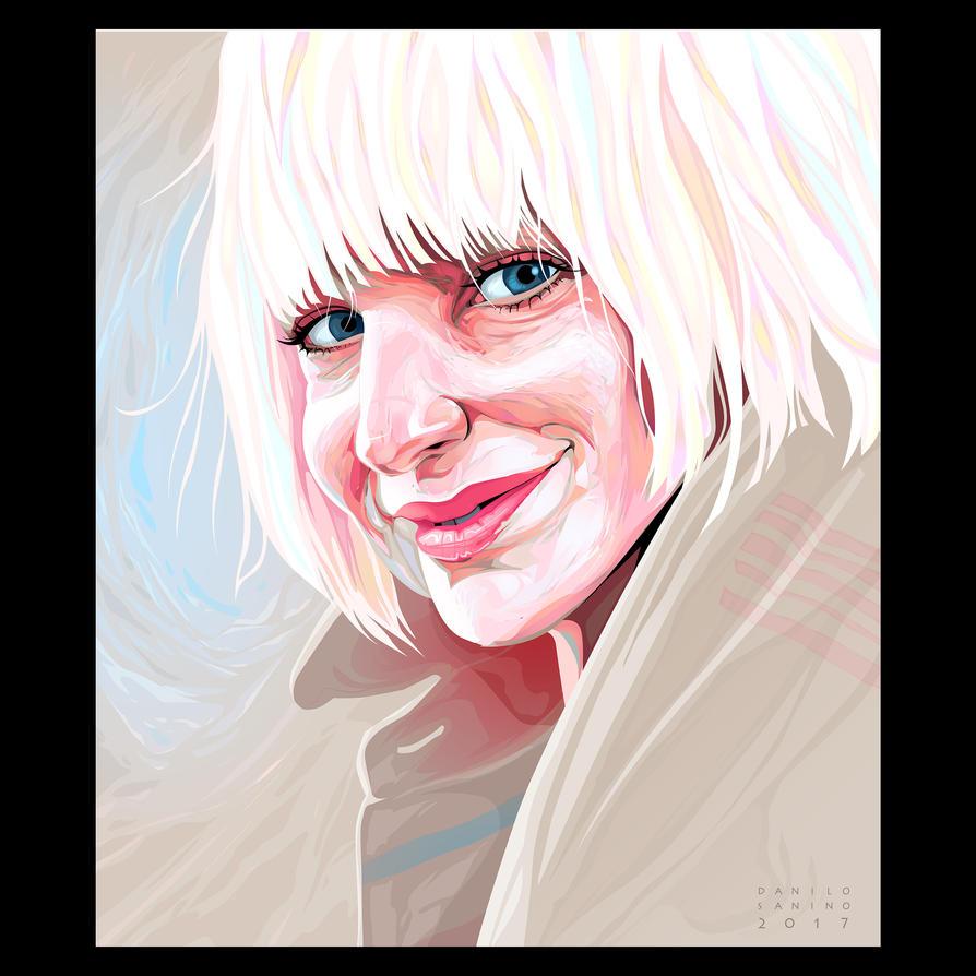 - Sia - Vector portrait by neptune82