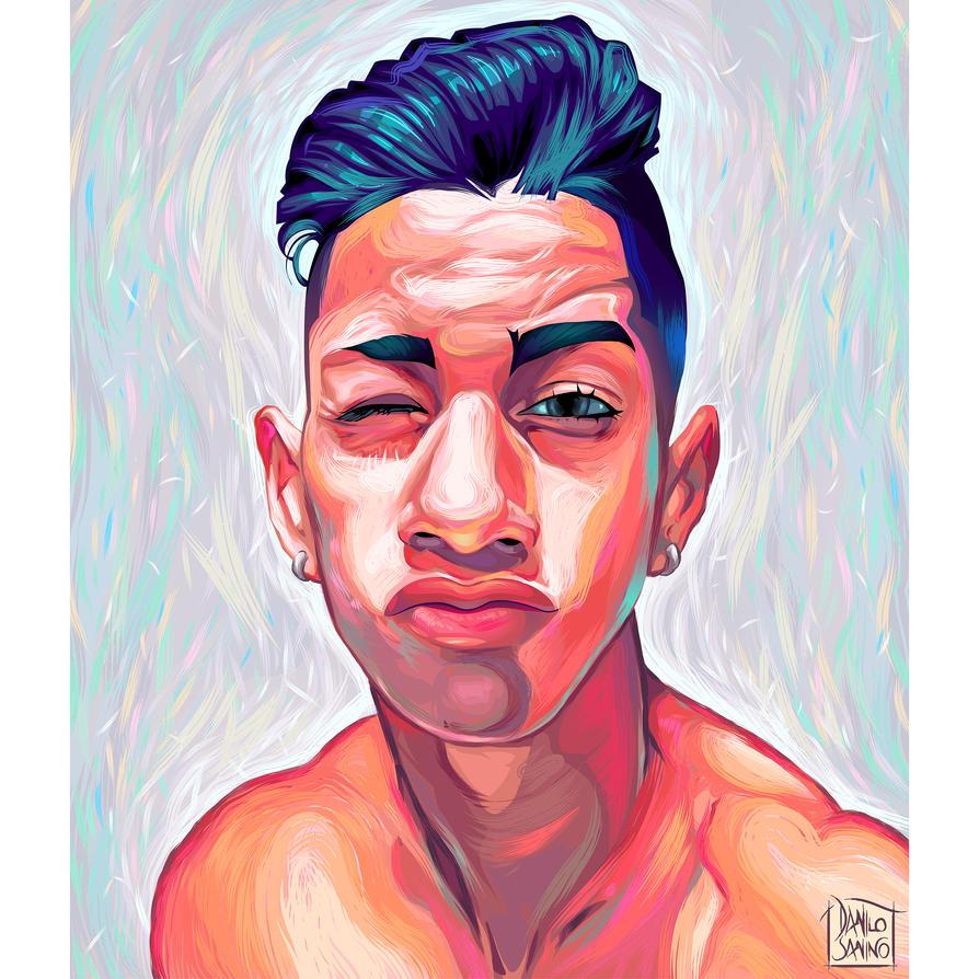 - Commisioned portrait - Adobe Illustrator, vector by neptune82