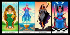 Queens of Tarots