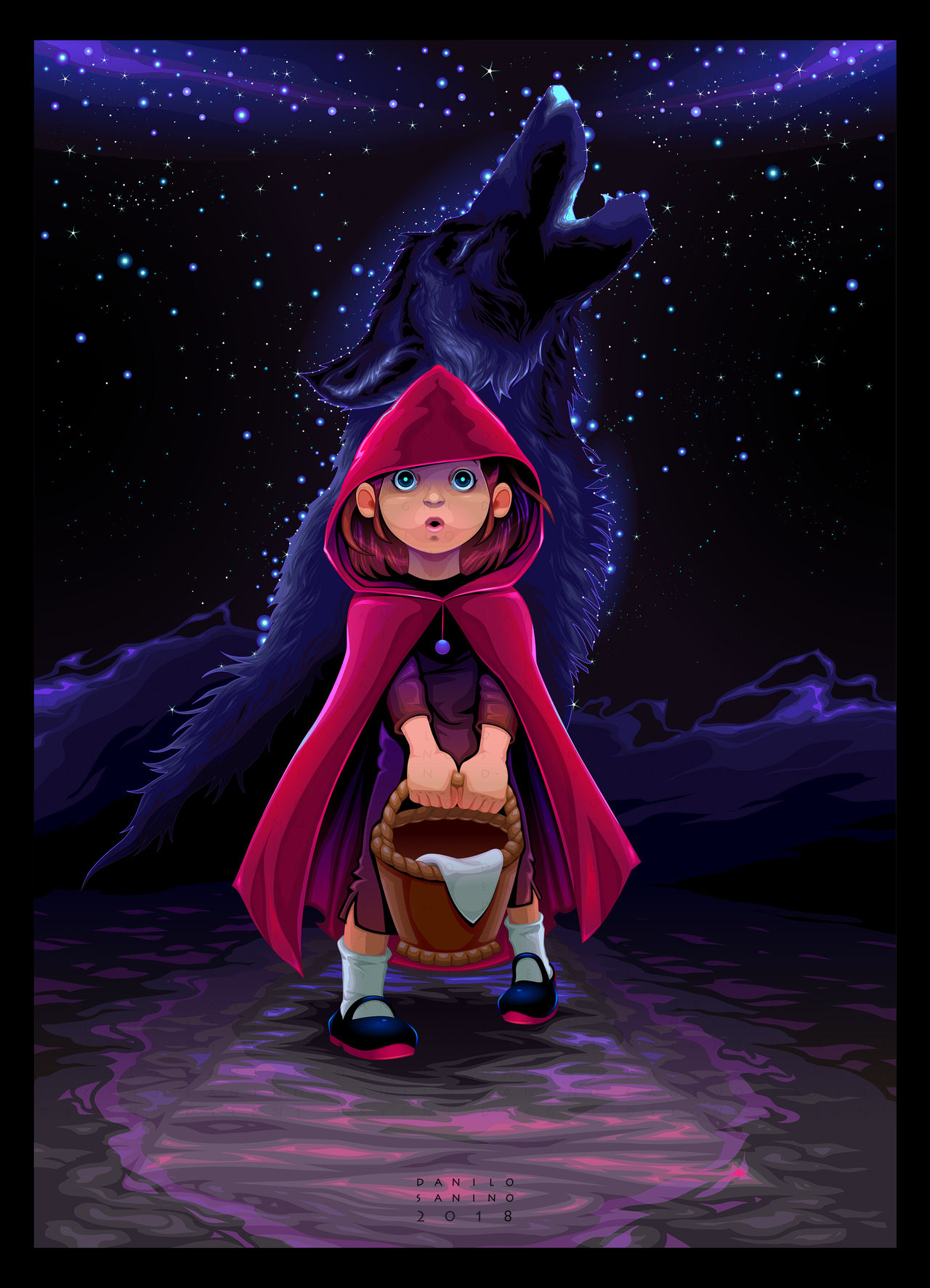Initiation of Little Red Riding Hood