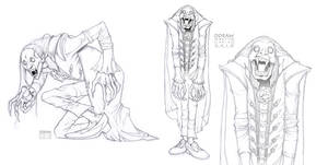 - Vampire Sketch -