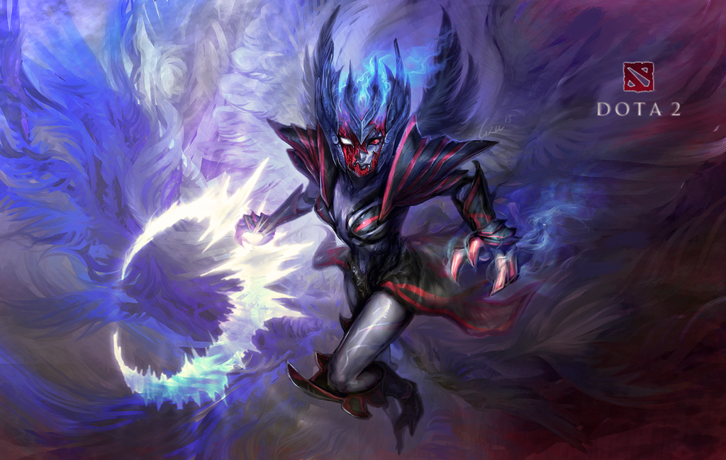 Dota2 Vengeful Spirit -wallpaper- by Cizu