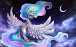 Celestia's Night (wallpaper size)