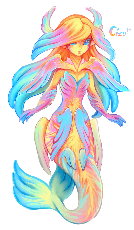 Summer Mermaid by Cizu
