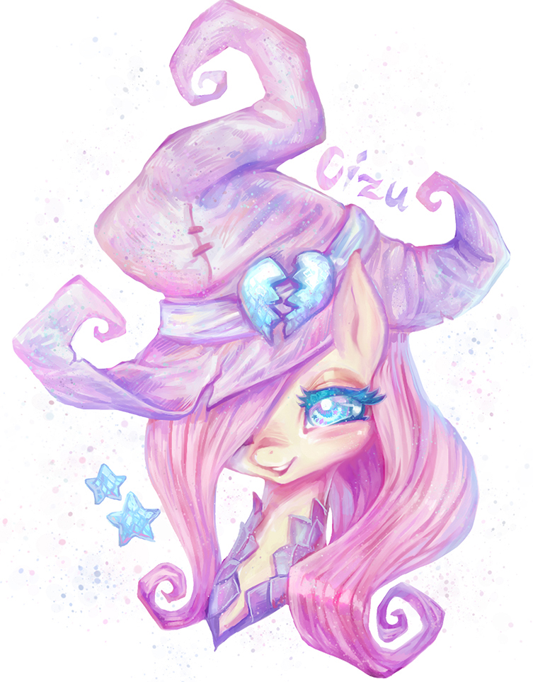 MLP Pink Witch by Cizu