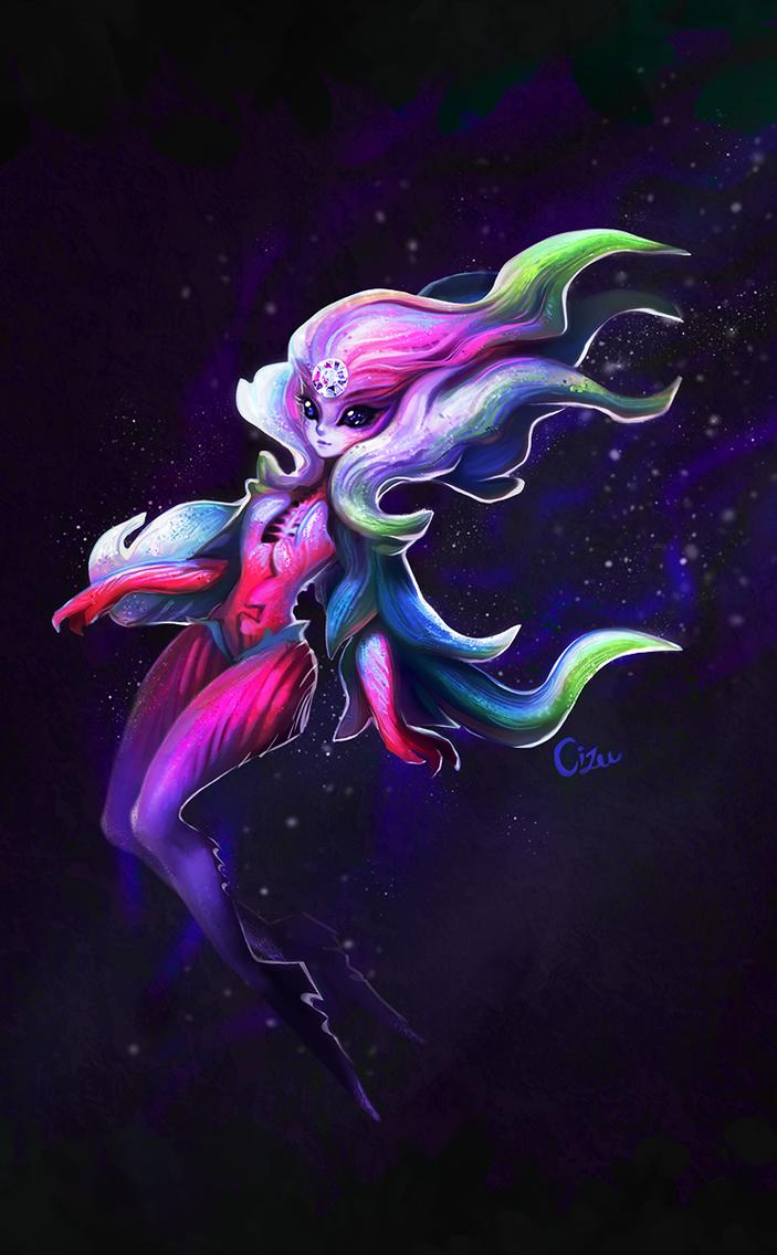 Alien Fairy-Lady by Cizu