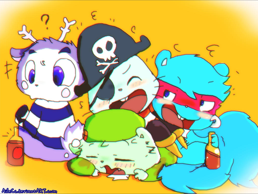 happy tree friends characters
