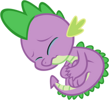 Spike Crying by iamcommando13