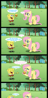 Fluttershy doesn't eat animals!